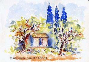 Daniel PASCOT Petit cabanon (Visioateliers)