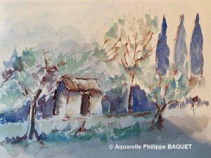 Philippe BAQUET Petit cabanon (Visioateliers)